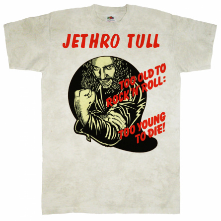 "Футболка ""Jethro Tull - Too Old To Rock-n-Roll"" фото 1"