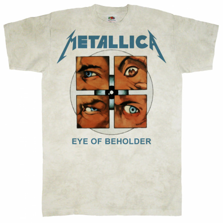 "Футболка ""Metallica - Eye of Beholder"" фото 1"